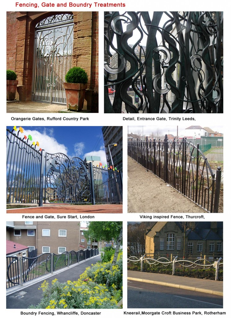 Fencing, Gate and Boundary Treatments