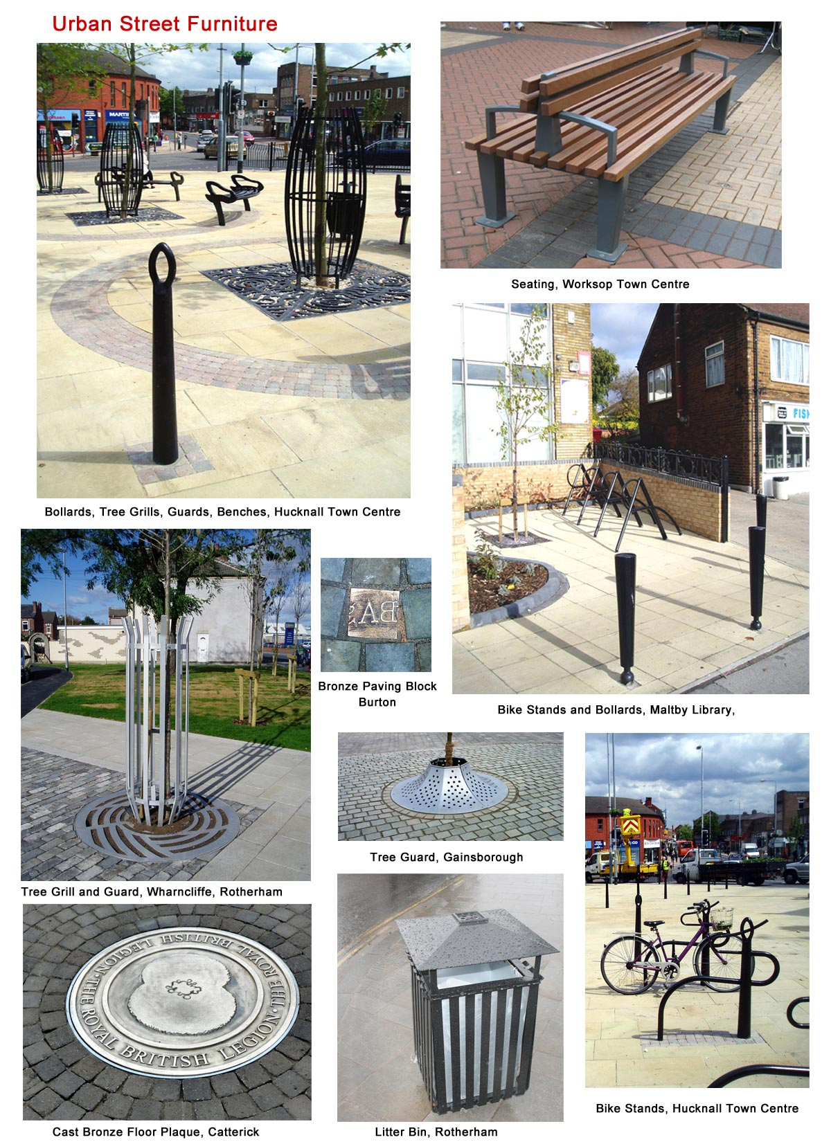 Urban Street Furniture | Campbell Design & Engineering Ltd.